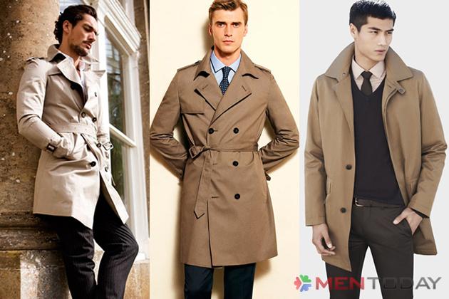 Trench coat trung tính