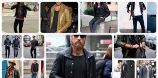 Áo khoác da cho nam giới