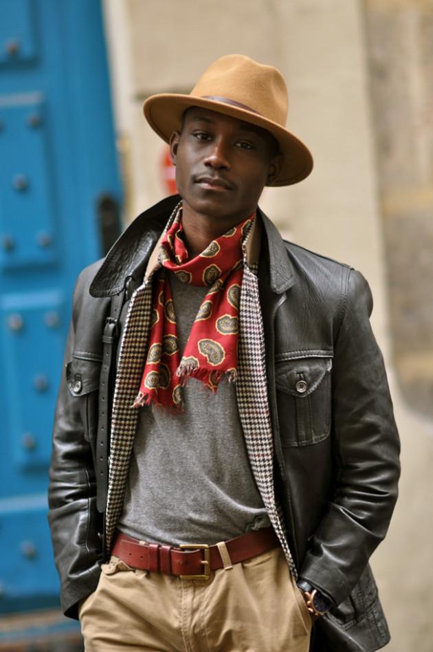 Street style nam: Mix đồ đông phong cách cùng áo da nam 9