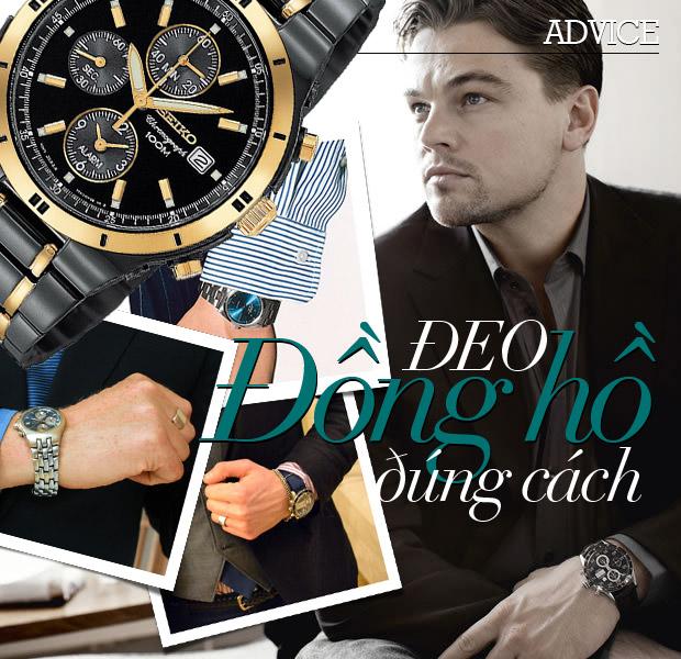 Gợi ý cách đeo đồng hồ nam