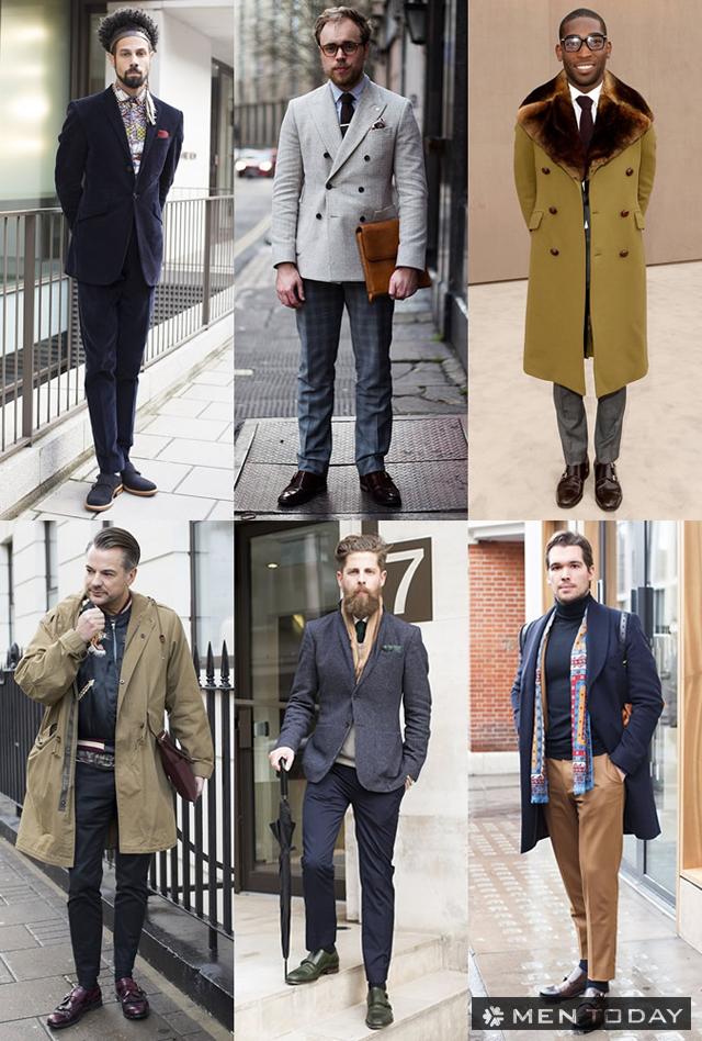Cảm hứng Monk-strap từ street style của các quý ông Châu Âu