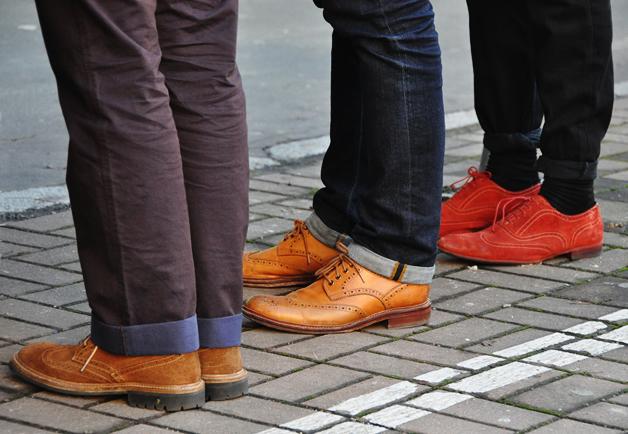 Những mẫu giày brogue đa dạng cho các chàng