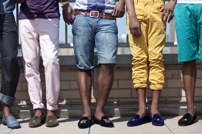 Những quý ông đa phong cách cùng slipper
