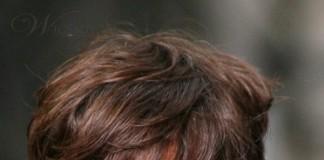 Kiểu tóc nam cho mùa thu: Tóc tỉa phần mái so le