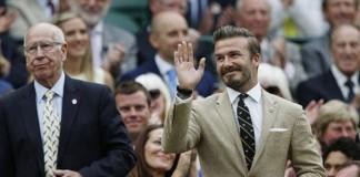 Học cách diện vest đẹp như David Beckham