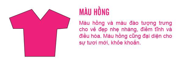 Ý nghĩa trang phục màu hồng
