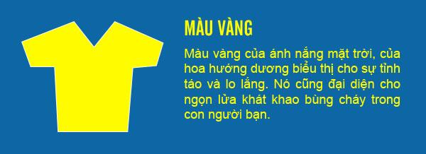 Ý nghĩa của trang phục màu vàng