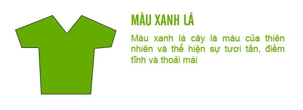 Ý nghĩa trang phục màu xanh lá