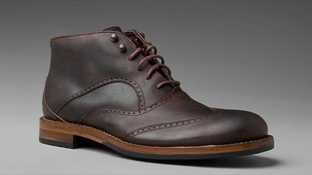 Đôi boots cổ ngắn lựa chọn hợp lý để các chàng mix cùng Military