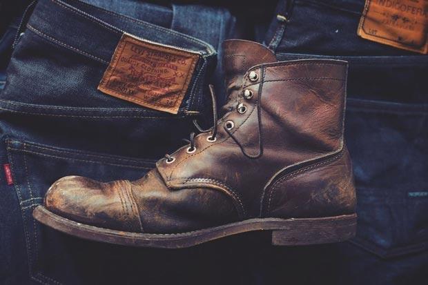 Đôi boots đậm cá tính, tôn phong cách Military