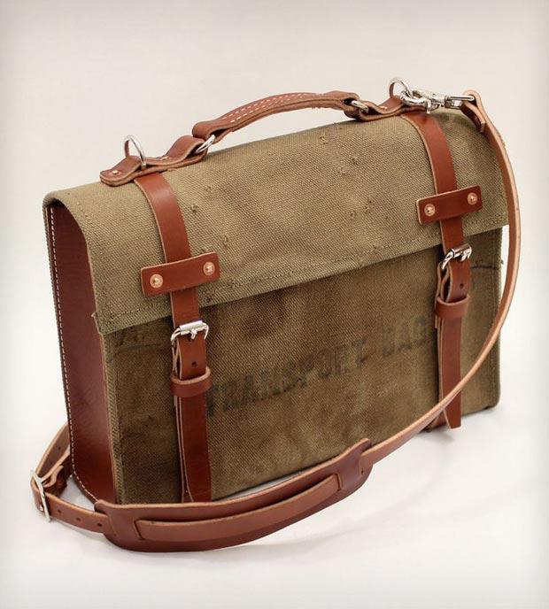 Túi xách phong cách Military