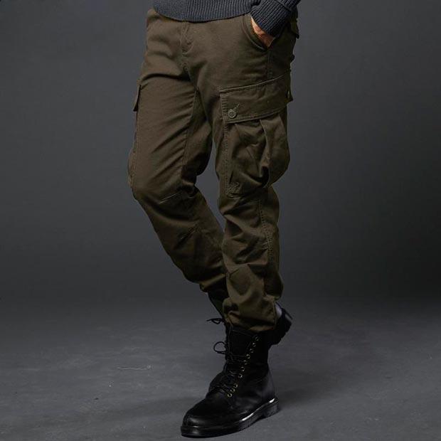 Mẫu quần cargo đặc trưng của phong cách nhà binh