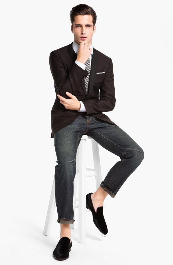 Cặp đôi được phái mạnh yêu thích: Blazer + Jeans