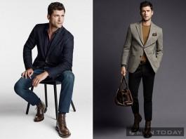 Chàng công sở nam tính cùng blazer kết hợp cùng jeans