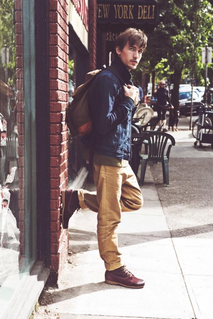 Chàng diện chukka boots cho street style