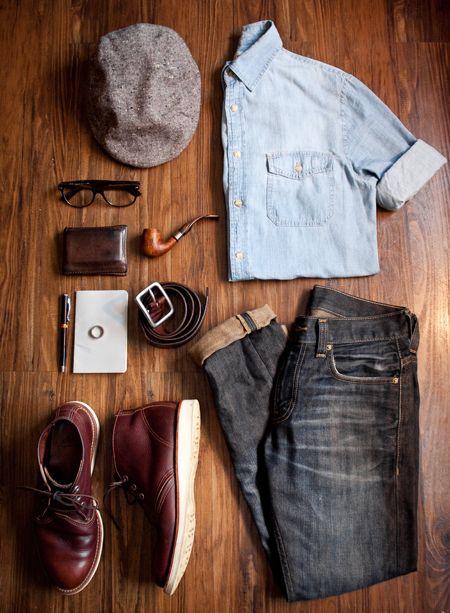 Set đồ phong cách và trẻ trung cho chàng đón thu