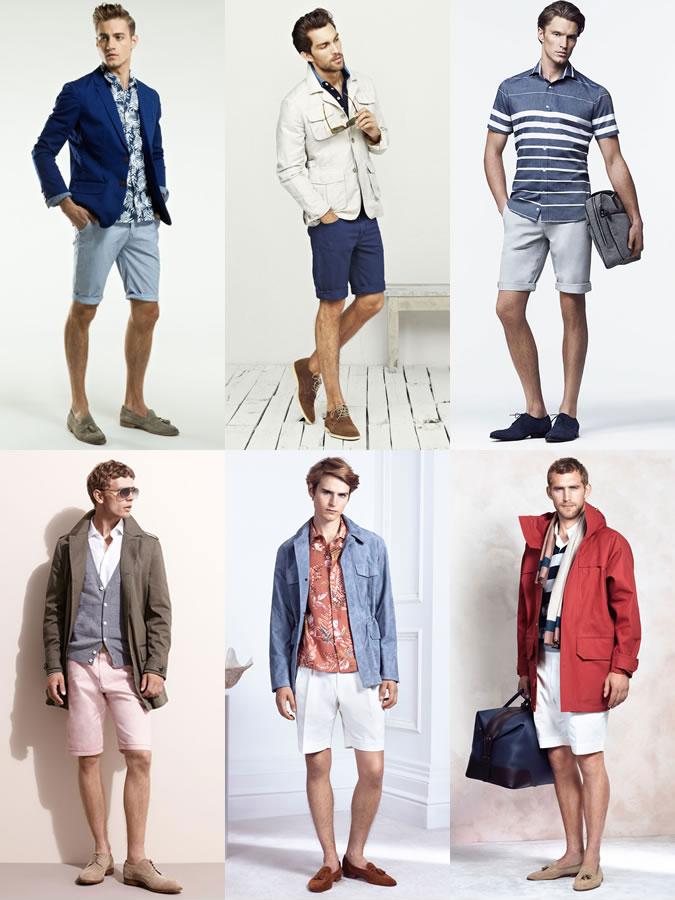 Kết hợp giày da & quần shorts 2