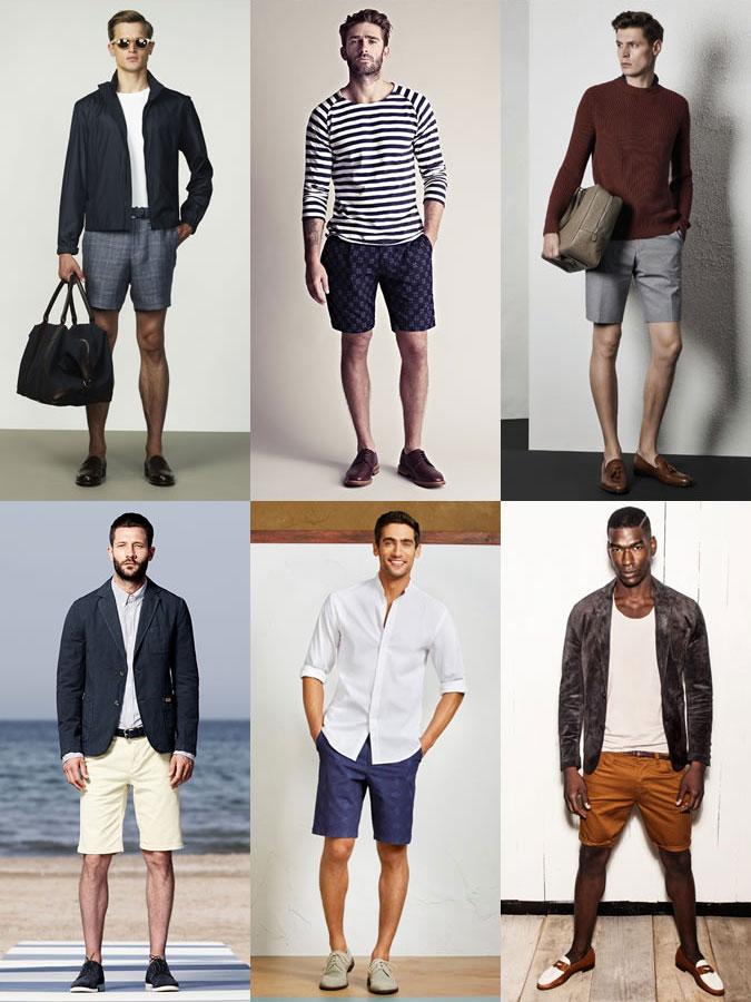 Kết hợp giày da & quần shorts
