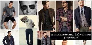 30 trang phục đa năng đáng để phái mạnh đầu tư