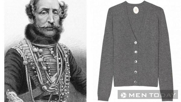 James Brudenell, bá tước thứ bảy của nhà Cardigan và chiếc áo cùng tên