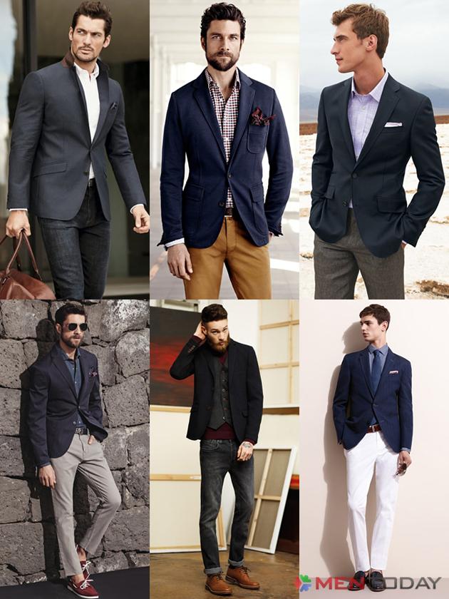 Một số mẫu blazer chúng tôi xin gợi ý cho phái mạnh