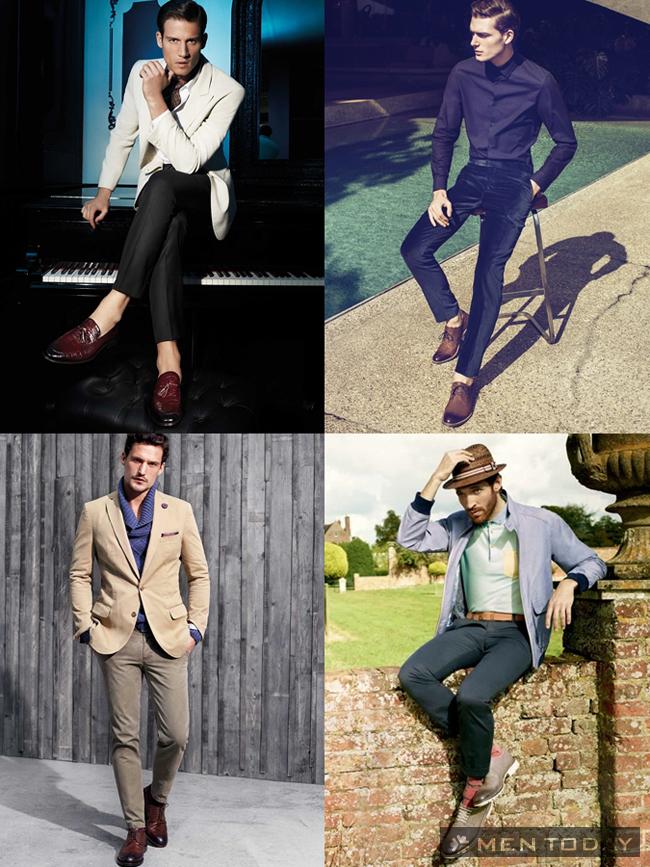 Những quý ông tinh tế cùng giày mũi bóng