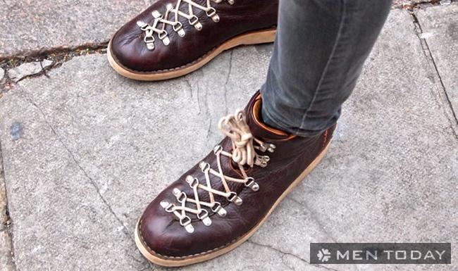 Tạo điểm nhấn bằng dây buộc giày