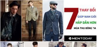 7 tips mix đồ giúp nam giới hấp dẫn hơn trong mùa thu đông 2014