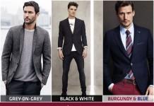 Xu hướng thời trang nam thu đông 2014: 3 cặp đôi màu sắc nổi bật