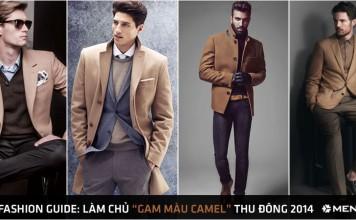 Men's fashion guide: Làm chủ gam màu camel thu đông 2014