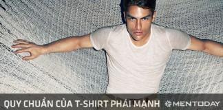 Chỉ dẫn thời trang nam: Quy chuẩn của t-shirt