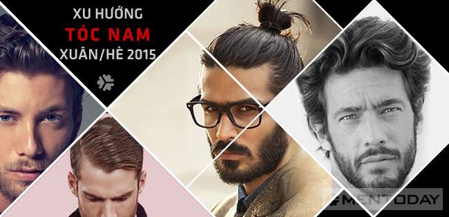 Xu hướng tóc nam xuân hè 2015