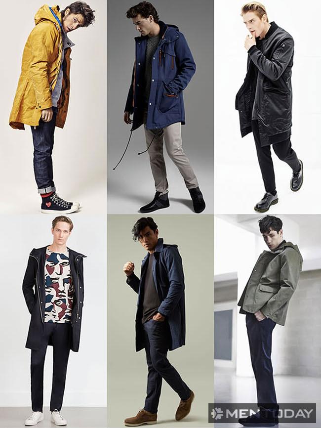"""Những mẫu áo khoác ngoài """"đa dụng"""""""