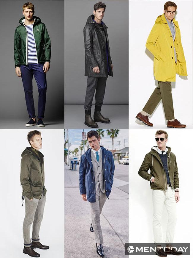 """Nam giới nên có một chiếc áo khoác ngoài """"đa dụng"""""""