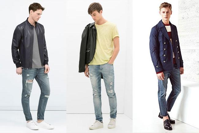 Quần jeans cho nam giới mùa 2015