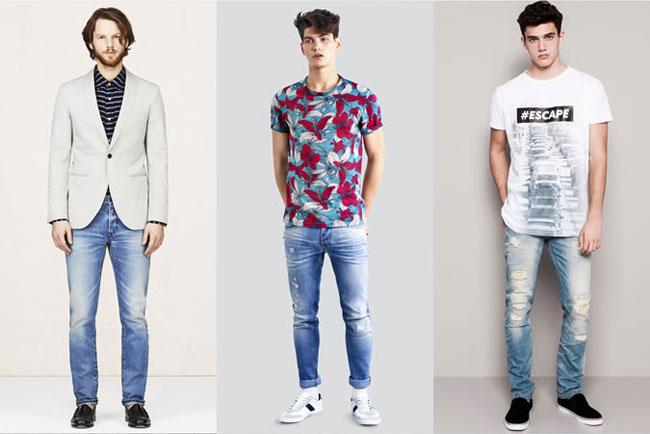Quần jeans cho phái mạnh 2015