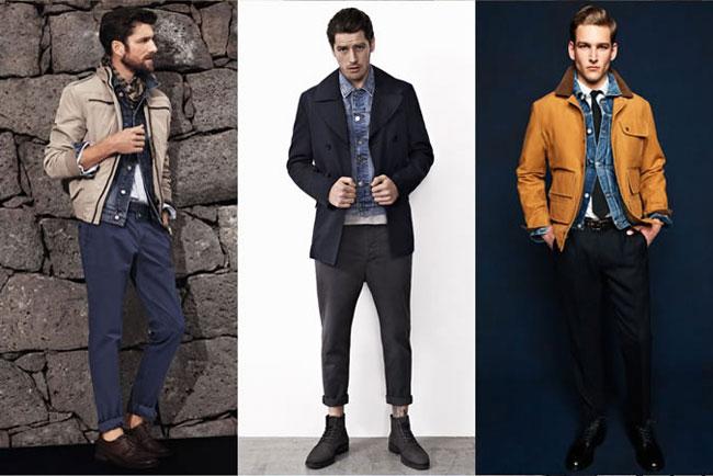 Xu hướng áo khoác denim cho nam năm 2015