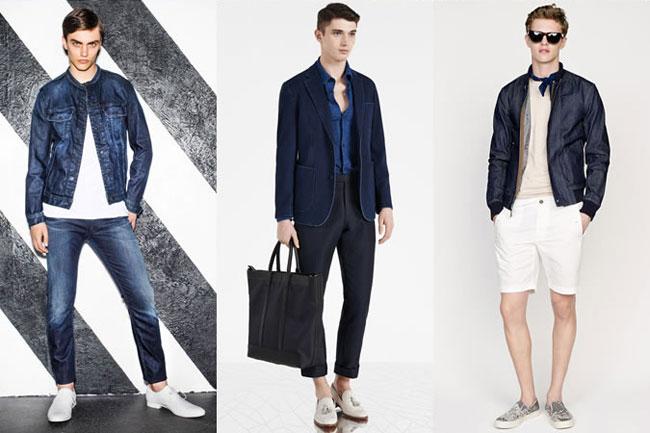 Xu hướng áo khoác denim cho nam giới 2015