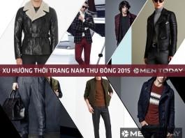 Sơ lược xu hướng thời trang nam thu đông 2015