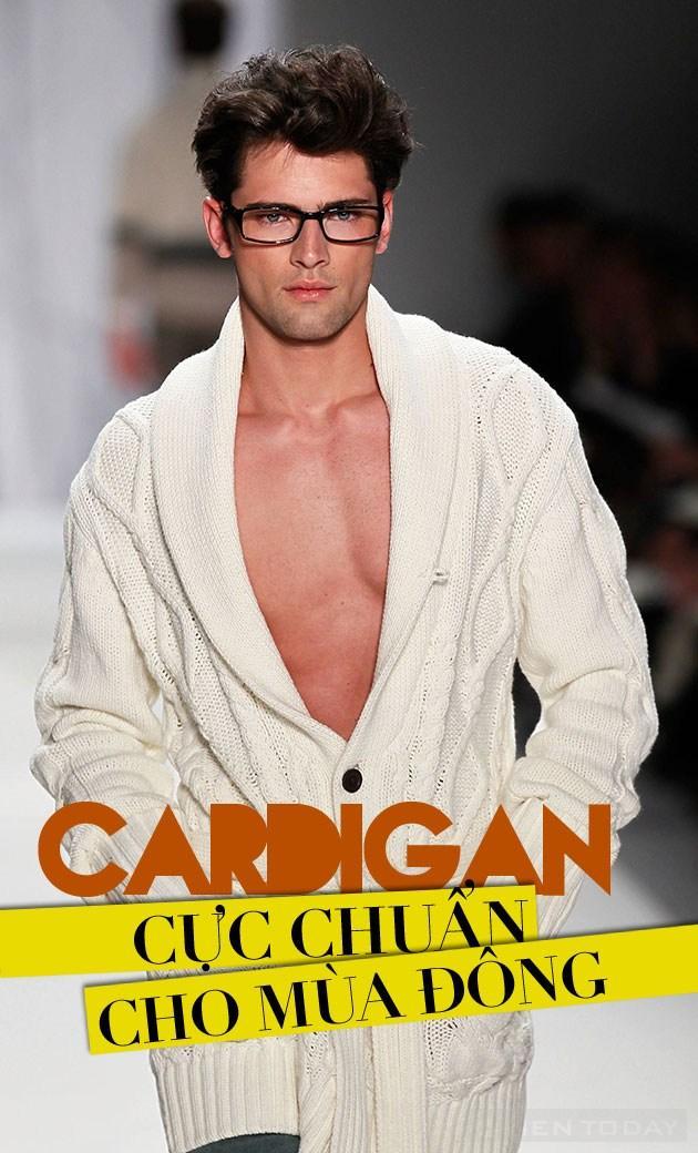 Mặc áo cardigan cực chuẩn cho mùa đông